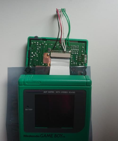 Game Boy used in the tests