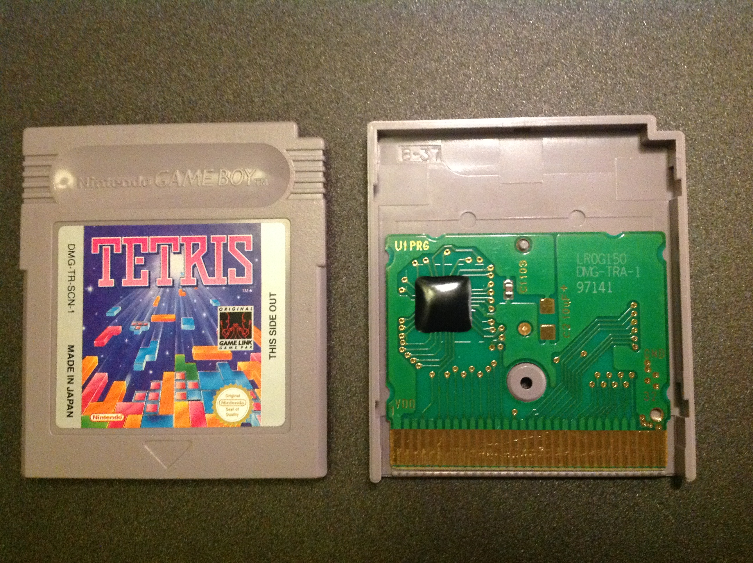 Mooneye Gb Cartridge Analysis Tetris No Mbc Joonas Javanainen Game Circuits We Start Our Gameboy Journey By First Looking At A Very Popular With Simple Hardware